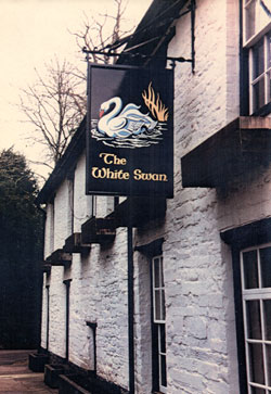 thumbnail picture of a hanging pub sign